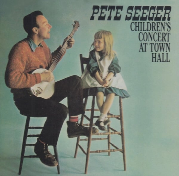 Cover of Pete Seeger, Childrens Concert at Town Hall