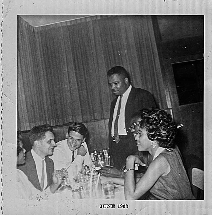 Paul Greenberg, AD King and others. Birmingham, AL, June, 1963